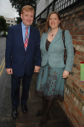 CHARLES KENNEDY and his wife SARAH at the annual Sir David & Lady Carina Frost Summer Party in Carlyle Square, London SW3 on 5th July 2007.<br /><br />NON EXCLUSIVE - WORLD RIGHTS