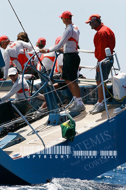 Giraglia Rolex Cup 2006. St Tropez.Artemis VOILE-EQUIPAGES-SAILING CREW-PART.1