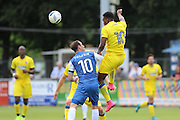 AFC Wimbledon striker Dom Poleon (10) during the Pre-Season Friendly match between Margate and AFC Wimbledon at Hartsdown Park, Margate, United Kingdom on 16 July 2016. Photo by Stuart Butcher.