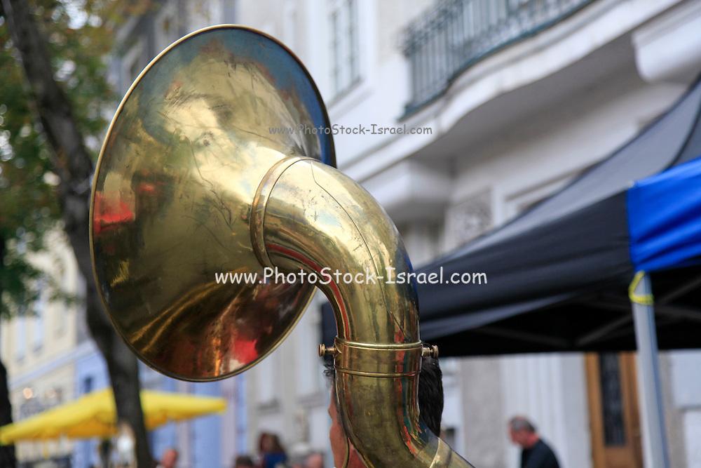 Tuba close up