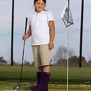 Portraits of the kids at The First Tee of Monterey County, a non profit that opens the door to golf, as well as academic tutoring,  to many underprivileged kids of Salinas, CA, which is located only miles from the affluent golf haven, Pebble Beach.