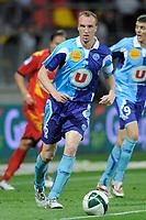 FOOTBALL - FRENCH CHAMPIONSHIP 2010/2011 - L2 - LEMANS FC v LE HAVRE AC - 18/04/2011 - PHOTO JEAN MARIE HERVIO / DPPI - JULIEN FRANCOIS (HAC)