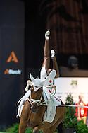 Cyril Michel, (SUI), Cyrano Nilaya CH, Vanessa Steiger - Individuals Mens Technical Vaulting - Alltech FEI World Equestrian Games™ 2014 - Normandy, France.<br /> © Hippo Foto Team - Jon Stroud<br /> 04/09/2014