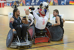New Zealand V Denmark at the 2016 IWRF Rio Qualifiers, Paris, France
