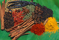 France, Guadeloupe, Épices des Antilles // France, Guadeloupe, Spices from Caraïbe