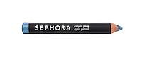 Sephora 509 blue eye pencil on white background