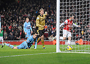Arsenal v West Ham United 230113