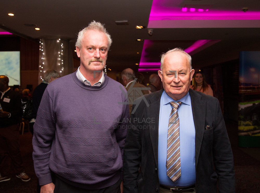 11.10.2016         <br /> Pictured at the Grand Final of the Limerick Going for Gold 2016 Awards were, Tom Caulfield and Paddy Gubbins, Kilmallock Tidy Towns. Picture: Alan Place