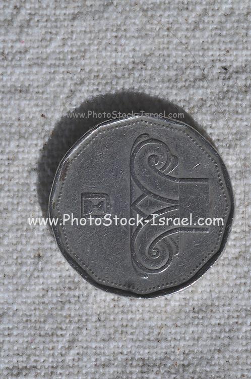 Five New Israeli Shekel coin