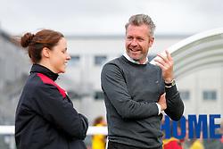 Willie Kirk manager of Bristol City Women looks on - Mandatory byline: Rogan Thomson/JMP - 09/07/2016 - FOOTBALL - Stoke Gifford Stadium - Bristol, England - Bristol City Women v Milwall Lionesses - FA Women's Super League 2.