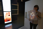 Linz, Cultural Capital of Europe 2009. Ars Electronica Center. Level -3: Main Gallery. New Views of Humankind. BrainLab. Holoman: Step in front of the mirror and discover the fascination of the human body! Human anatomy has always fascinated artists no less than physicians. Anatomical representations from different historical epochs let us see how knowledge of the body has changed over the course of time. ?Holoman? is a modern magical mirror that gives us a glimpse inside the body.