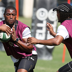 S'bura Sithole during The Cell C Sharks High CNS Rugby / Skills / Field Conditioning KP2, session at Growthpoint Kings Park in Durban, South Africa. December 9th December 2016 (Photo by Steve Haag)<br /> <br /> images for social media must have consent from Steve Haag