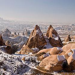 Landscape of Capadocia, Turkey, Asia