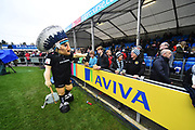 The Exeter Chiefs mascon before the Aviva Premiership match between Exeter Chiefs and Harlequins at Sandy Park, Exeter, United Kingdom on 19 November 2017. Photo by Graham Hunt.
