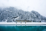 Crise de l'hydro&eacute;lectricit&eacute; suisse. Visite du complexe de la Gougra<br /> 1 mai 2017<br /> (PHOTO-GENIC.CH/ OLIVIER MAIRE)