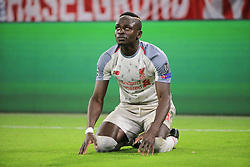 13.03.2019, CL, Champions League, Achtelfinale Rueckspiel, FC Bayern Muenchen vs FC Liverpool, Allianz Arena Muenchen , Fussball, Sport im Bild:.. 0:1 Jubel  Sadio Mane (FC Liverpool)..DFL REGULATIONS PROHIBIT ANY USE OF PHOTOGRAPHS AS IMAGE SEQUENCES AND / OR QUASI VIDEO...Copyright: Philippe Ruiz..Tel: 089 745 82 22.Handy: 0177 29 39 408.e-Mail: philippe_ruiz@gmx.de (Credit Image: © Philippe Ruiz/Xinhua via ZUMA Wire)