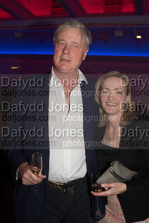 HENRY SOMERSET, DUKE OF BEAUFORT; GEORGIA POWELL, Sotheby's Erotic sale cocktail party, Sothebys. London. 14 February 2018