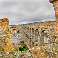 Alberto Carrera, Roman Aqueduct of Segovia, World Monument Fund, Segovia, World Heritage Site UNESCO, Castilla y León, Spain, Europe.
