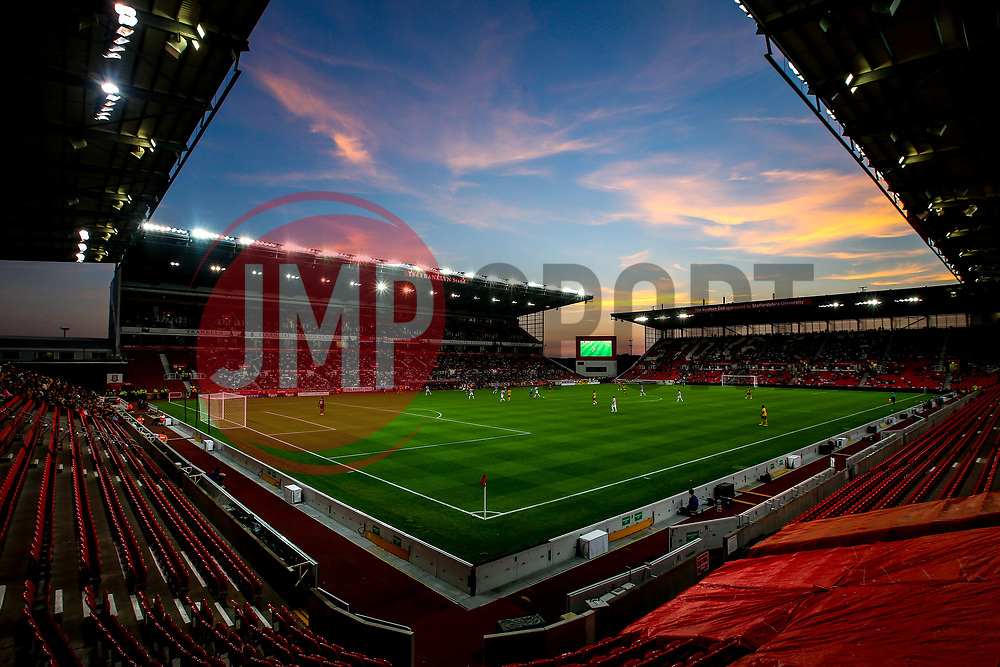 A general view of the Bet365 Stadium as Stoke City take  on Wolverhampton Wanderers - Mandatory by-line: Robbie Stephenson/JMP - 25/07/2018 - FOOTBALL - Bet365 Stadium - Stoke-on-Trent, England - Stoke City v Wolverhampton Wanderers - Pre-season friendly