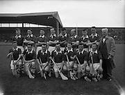 National League Final, Kilkenny v Cork, at Croke Park. Cork Team..06.05.1962