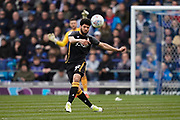 Nat Knight-Percival of Bradford City passes during the EFL Sky Bet League 1 match between Portsmouth and Bradford City at Fratton Park, Portsmouth, England on 2 March 2019.