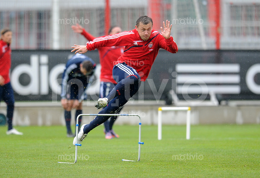 Fussball 1. Bundesliga:  Saison   2009/2010    Training beim FC Bayern Muenchen 14.04.2010 Ivica Olic (FCB)