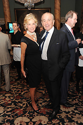 A party to promote the exclusive Puntacana Resort & Club - the Caribbean's Premier Golf & Beach Resort Destination, was held at Spencer House, London on 13th May 2010.<br /> <br /> Picture shows:- PHILIP & DIANA HARARI