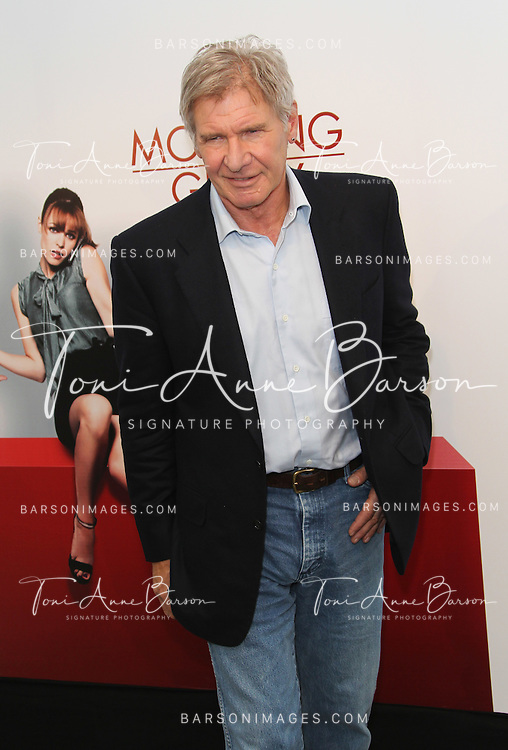 "PARIS - JANUARY 14:   Harrison Ford attend ""Morning Glory"" Photocall at Hotel Meurice on January 14, 2011 in Paris, France.  (Photo by Tony Barson/FilmMagic)"