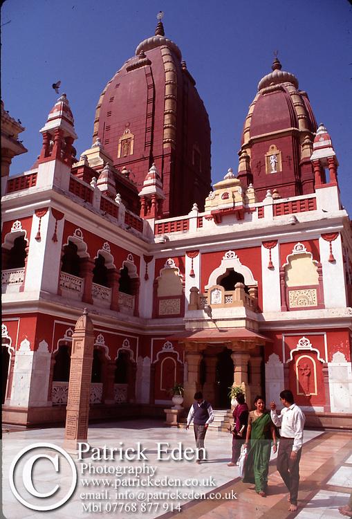 Laksmi Narian Temple Delhi India © Patrick Eden