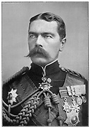 Horatio Herbert Kitchener (1850-1911) Irish-born British soldier and statesman. Lost when 'HMS Hampshire' mined off Orkney 6 June 1916.
