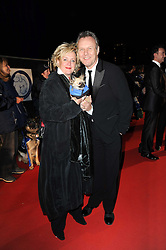 ANTHONY HEAD and SARAH FISHER at the Collars & Coats Gala Ball celebrating 150 years of Battersea Dogs & Cats Home held at Battersea Power Station, London on 25th November 2010.
