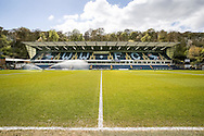 A general view of the main stand at Adams Park, High Wycombe<br /> Picture by Andy Kearns/Focus Images Ltd 0781 864 4264<br /> 18/04/2014