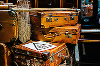 National Railway Museum, York, North Yorkshire, United Kingdom, 01 November, 2014. Pictured: Luggage