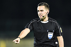 October 5, 2017 - San Marino, SAN MARINO - 171005 Andrew Dallas of Scotland, referee, during the FIFA World Cup Qualifier match between San Marino and Norway on October 5, 2017 in San Marino. .Photo: Fredrik Varfjell / BILDBYRN / kod FV / 150027 (Credit Image: © Fredrik Varfjell/Bildbyran via ZUMA Wire)
