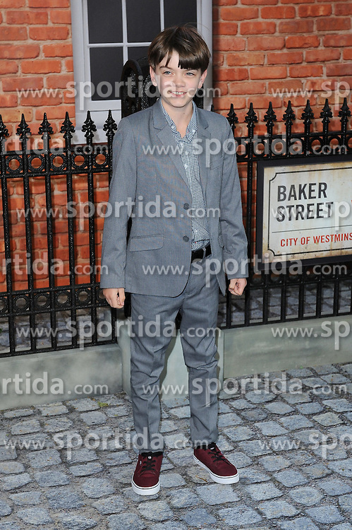 Milo Parker attends the UK Premiere of Mr Holmes at Odeon Kensington High Street in London, 10th June 2015. EXPA Pictures &copy; 2015, PhotoCredit: EXPA/ Photoshot/ Paul Treadway<br /> <br /> *****ATTENTION - for AUT, SLO, CRO, SRB, BIH, MAZ only*****