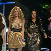 NLD/Hilversum/20141219- Finale The Voice of Holland 2014, opening van de show, O'Gene
