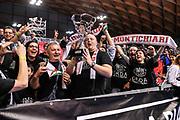 DESCRIZIONE : Final Four Coppa Italia DNB IG Cup RNB Rimini 2015 Finale BCC Agropoli - Contaldi Castaldi Montichiari<br /> GIOCATORE : Tifosi Contaldi Castaldi Montichiari<br /> CATEGORIA : Ultras Tifosi Spettatori Pubblico Esultanza Coppa<br /> SQUADRA : Contaldi Castaldi Montichiari<br /> EVENTO : Final Four Coppa Italia DNB IG Cup RNB Rimini 2015<br /> GARA : BCC Agropoli - Contaldi Castaldi Montichiari<br /> DATA : 08/03/2015<br /> SPORT : Pallacanestro <br /> AUTORE : Agenzia Ciamillo-Castoria/L.Canu