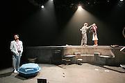 LOVE de murray Schiscal.mise en scene par Marc Lesage.avec : Marc Lesage , Bogdan Marian Stanoevitch ,        Laura Prejean.photo : Arnold Jerocki