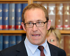 Wellington-Andrew Little, new leader of the Labour Party