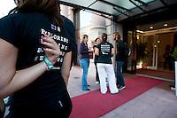 Partenza dall'Hotel Oriente, Bari 4 Ottobre 2011 ..Apulia Film Commission.Apulia Audiovisual Workshop Puglia Experience