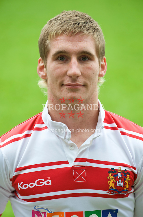 WIGAN, ENGLAND - Friday, January 30, 2009: Wigan Warriors' Sam Tomkins. (Mandatory credit: David Rawcliffe/Propaganda)