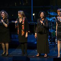 Marty Testa, Emily Skinner, Sherry D. Boone, and Kate Baldwin