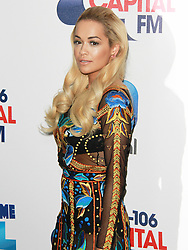 © London News Pictures. Rita Ora, Capital FM Summertime Ball, Wembley Stadium, London UK, 06 June 2015, Photo by Brett D. Cove /LNP
