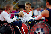 LONDON 2012 WHEELCHAIR RUGBY