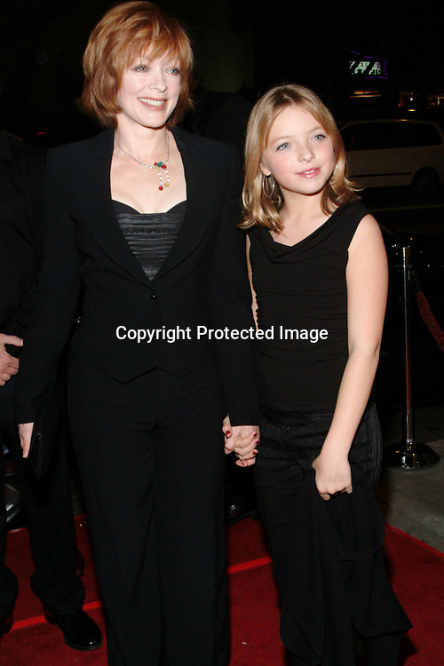 Frances Fisher with daughter Francesca <br />AFI Film Festival World Premiere of &quot;House of Sand and Fog&quot; <br />Cinerama Dome at ArcLight<br />Hollywood, California, USA<br />Sunday, November 9, 2003<br />Photo By Celebrityvibe.com/Photovibe.com