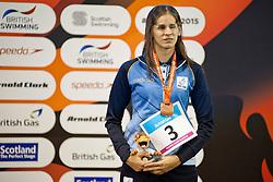 BAEZ Nadia ARG at 2015 IPC Swimming World Championships -  Women's 100m Breaststroke SB11