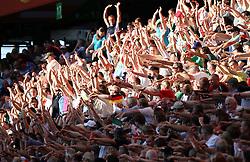 27.06.2011, Arena im Allerpark Wolfsburg, Wolfsburg,  GER, FIFA Women Worldcup 2011, Gruppe B, Mexico (MEX) vs. England (ENG).im Bild Laola-Welle geht durchs Satdion during the FIFA Women Worldcup 2011, Pool B, Mexico vs England on 2011/06/26, Arena im Allerpark , Wolfsburg, Germany.  .EXPA Pictures © 2011, PhotoCredit: EXPA/ nph/  Hessland       ****** out of GER / SWE / CRO  / BEL ******