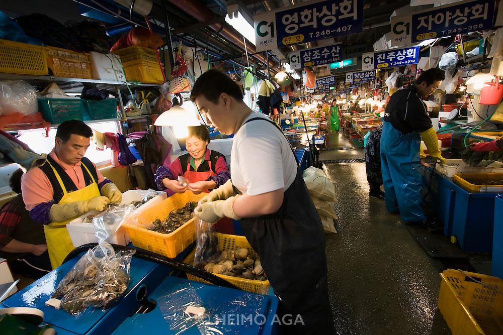 Jagalchi Fish Market.