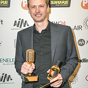 Mix engineer of the year Winner Pete Hofmann at The Music Producers Guild Awards at Grosvenor House, Park Lane, on 27th February 2020, London, UK.