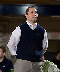Virginia head coach Steve Garland.  The Virginia Cavaliers defeated the Campbell Camels 48-0 in wrestling at the the University of Virginia's Memorial Gymnaisum  in Charlottesville, VA on February 2, 2008.